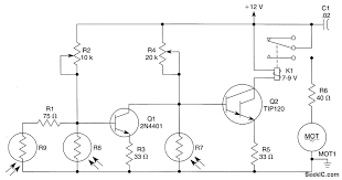 photoresistor circuit diagram the wiring diagram sun tracking circuit for solar arrays circuit diagram circuit diagram