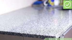 how to remove hard water stains from quartz countertop image titled clean a quartz step