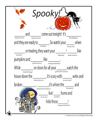 Halloween Mad Libs - Woo! Jr. Kids Activities