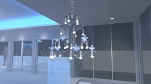 how to get chandelier in dialux evo