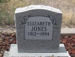 "Elizabeth ""Effie"" Hudson Jones (1912-1994) - Find A Grave Memorial"