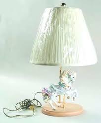 carousel horse lamp carousel lamp carousel horse lamp with box 1 flea market flip carousel horse