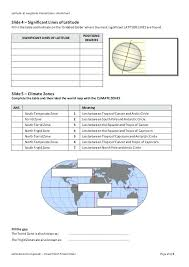 Latitude And Longitude Worksheet Practice Worksheets 5th Grade A Two