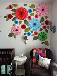 paper wall decor diy d wall art nice wall decoration craft ideas diy construction paper wall paper wall decor diy view in gallery colorful wall art idea