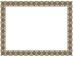 Certificate Frames And Borders Free Download Clip Art