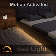 under bed led lighting. Brilliant Bed Dimmable Bed Light With Motion Sensor And Power Adapter Under  Activated LED Inside Led Lighting