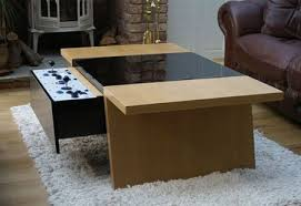 Exceptional ... Hidden Storage Coolest Coffee Table Game Console Suitable For Geeks  House Decoration Metal Components ...