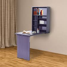 wall mounted office. Wall-Mount-Writing-Table-Convertible-Folding-Computer-Desk- Wall Mounted Office