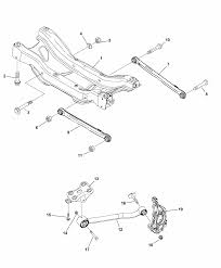 68265172aa genuine jeep xmember rear suspension 2015 jeep renegade crossmember links rear suspension diagram i2324465 pooptronica