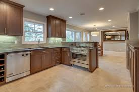 Cushion Flooring For Kitchen Kitchen And Dining Room Flooring With Travertine Tile Floor