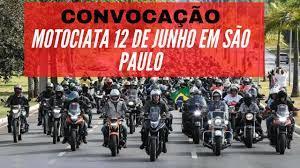 CONVOCAÇÃO: Motociata com Bolsonaro em São Paulo dia 12/06/2021 - YouTube
