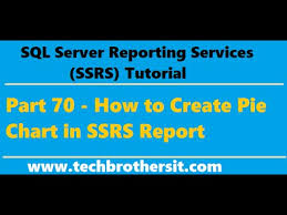 Ssrs Tutorial 70 How To Create Pie Chart In Ssrs Report