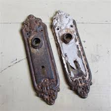 Antique door knob Backplates 4186 Antique Door Knob Old House Parts Company Architectural Salvage Antique Windows And Old House Parts Company Architectural Salvage Antique Windows And