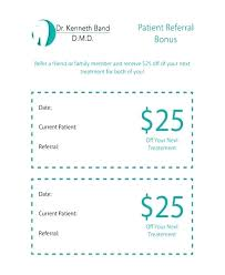 Customer Referral Template Referral Coupon Templates Free