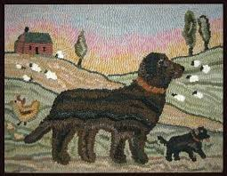 best rugs for dogs the grinning sheep hooked rug sisal rug dog hair