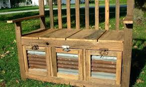 storage bench outdoors deck storage bench wood storage bench outdoor cushion storage outdoor storage box seat