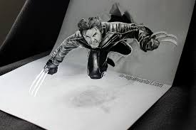 3d drawing by iza nagi 3d drawing