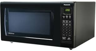 panasonic nn h965 luxury full size 2 2 cu ft countertop microwave oven with inverter technology 1250 watt high power one touch sensor cooking reheat