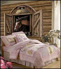 Horse Theme Bedroom Decorating Ideas   Girls Horse Themed Bedrooms     Horse  Wall Murals   Pony Theme Bedroom Decorating Ideas   Cowgirl Theme Bedroom  Horse ...