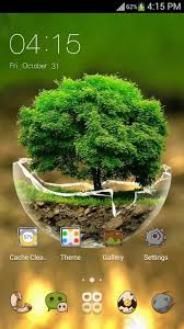 Theme Downloads Green Nature Hd Theme Comic Android Themes Free Free Android Theme