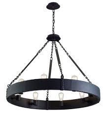 jackson 8 light chandelier