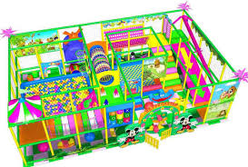 indoor playground, used clipart