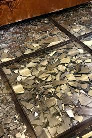 shattered mirror bathroom floor broken mirror floor repair drawing good luck glass floor with mirror shards inside