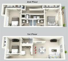 3 Bedroom House Plans 3d 3 Bedroom 3 Bathroom 3 Bedroom 2 Story House Plans  3d .