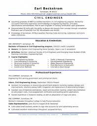 Resume Template Civil Engineering Resume Templates Best Of