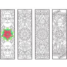 Small Picture Christmas Mandala Bookmarks CandyHippie Coloring Pages
