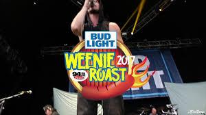 Bud Light Weenie Roast Houston Bud Light Weenie Roast Post Show 94 5 The Buzz