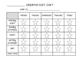 Scientific Second Grade Behavior Chart School Behavior