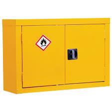 hazardous storage cupboard for wall