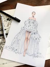 Pinterest Fashion Design Sketches Pinterest Arudnicki Illustrazioni Fashion Design
