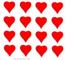 Dessin Petit Coeur Dessin De Coeur Rouge A Imprimer L
