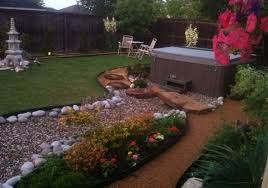 Hot Tub Ideas image of backyard hot tub landscaping Backyard Patio