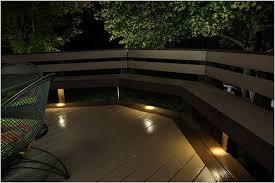 outdoor led deck lights the best option dekor led recessed down lights provide subtle lighting
