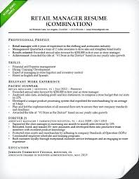 Top Rated Store Manager Resume Examples Retail Store Manager Resume ...