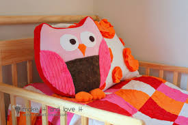 Owl Pillow Pattern Snuggly Owl For Sewing Republic Make It And Love It