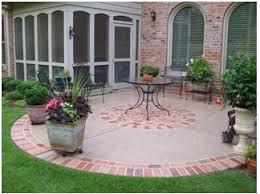 concrete patio plain13 patio