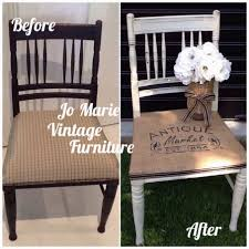 Best Refurbished Painted Vintage Chair Rustic Country Look And Than Ladder Back Chairs