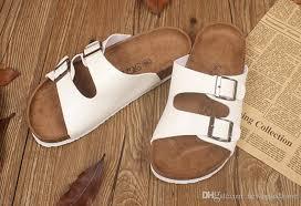 cork slippers sequins beach flip flops women fashion soft wooden sole slippers lady y flat flip flops outdoor vogue slippers sandals gold sandals sandals