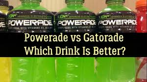 Powerade Vs Gatorade Vs Water Nutrition Facts And Sugar