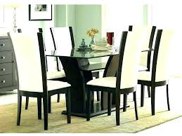 glass dining room table set glamorous round glass dining table and chairs round glass kitchen table