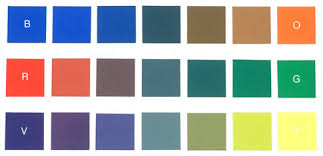 Any TWO colors directly across the color wheel from each other are called  COMPLEMENTARY COLORS. Red and green are opposite each other on the color  wheel and ...