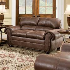 simmons lucky espresso reclining console loveseat. simmons bonded leather sectional | upholstery sofa harbortown loveseat lucky espresso reclining console h