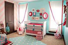 Image of Baby girl room ideas pink and brown