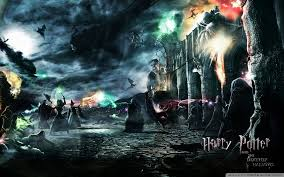 harry potter wallpaper containing a fuoco and a fontana enled hp