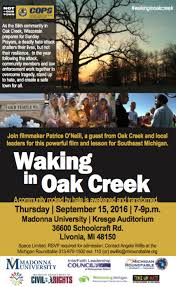 join maker patrice o neill a guest from oak creek and local leaders for this powerful and lesson for southeast michigan this event is hosted by