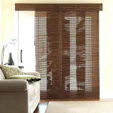 bamboo curtain bamboo curtains for sliding glass doors medium image for bamboo blinds for sliding door